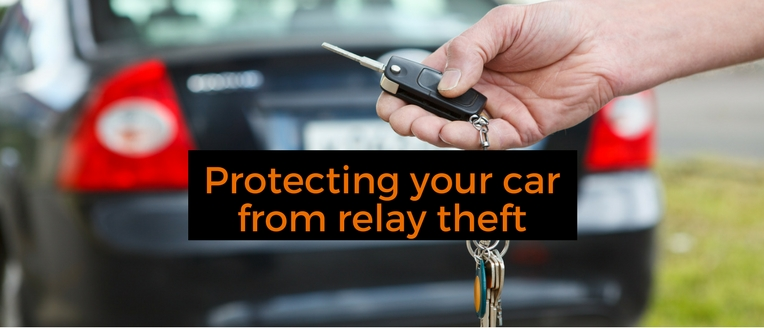 Protecting your car from relay theft